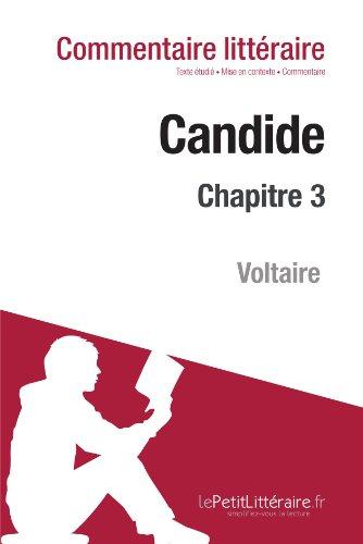 Candide de Voltaire - Chapitre 3 (Commentaire)