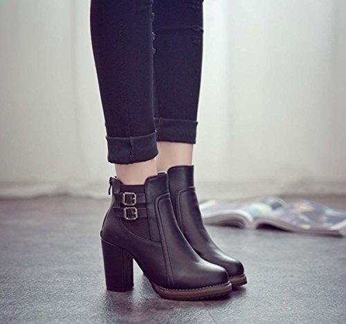 Scarpe da calcio classico delle scarpe da ginnastica delle donne classiche del basamento del cavallo del cavallo di Chelsea caldo Black
