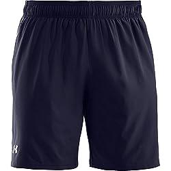 Under Armour Pantalónes cortos para Hombre, Azul Marino, Talla LG/G