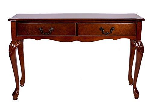 Mogano marsais Consolle con 2cassetti stile antico tavolo hall Riproduzione