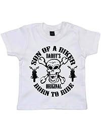 IiE, Son of a Biker Daddy's Original Born to Ride, Baby Boy T-shirt