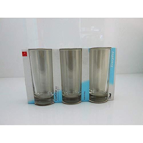 'fimel- Lot de 3 verre à Soda Double Paroi série \