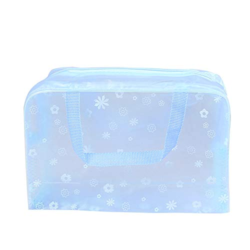 Demarkt 1pcs Style Transparent Étanche Trousse de Maquillage Toiletry Bag Sac à Main Multicolore Trousse de Toilette Femme