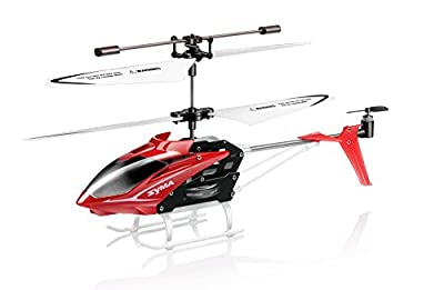 Syma S5 Gyroscope Speed 3 Channel Remote Control Infrared Helicopter - Red
