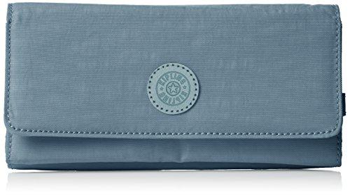 Kipling Damen BROWNIE Geldbörse, Blau (Dazz Soft Aloe), 19x10x3 cm - Kipling Türkis