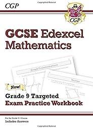 GCSE Maths Edexcel Grade 8-9 Targeted Exam Practice Workbook (includes Answers)