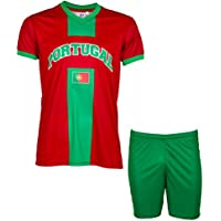 Maillot + short Portugal - Collection supporter - Taille enfant