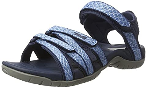 Teva Damen Tirra W's Sandalen Trekking-& Wanderschuhe, Blau (Buena Bowder Blue Bprb), 37