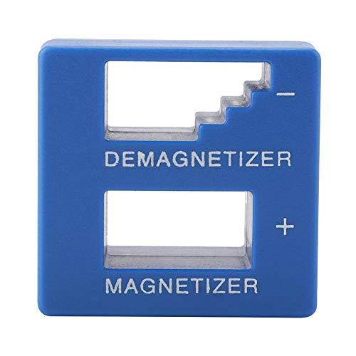 Garosa 2 In 1 Professionell Entmagnetisierung Magnetisierer Werkzeug Praktisch Entmagnetisiergerät für Schraubendreher Tipps