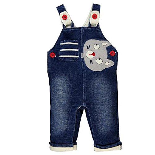 Bóboli Baby - Jungen Latzhose Latzhose 124029-8079 Blau Gr. 56 (1M)