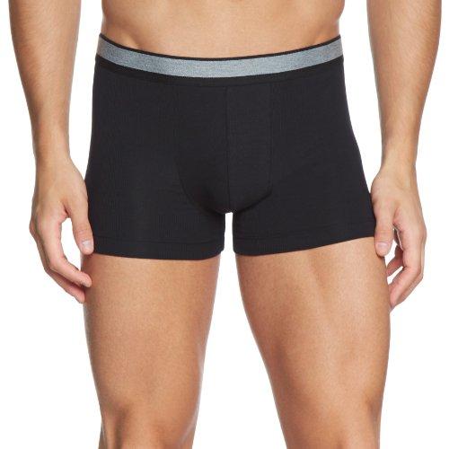 Schiesser Herren Unterhose Shorts 143624, Gr. 5 (M), Schwarz (000-schwarz)