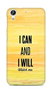 AMEZ i can and i will watch me Back Cover For HTC Desire 626 G