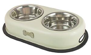 Buckingham Double Dog Bowl Cream (2 X 0.45 Ltr) by BIIA4