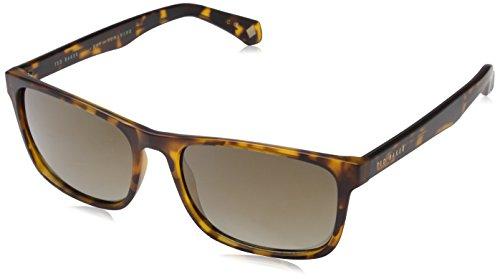Ted Baker Sunglasses Herren Sonnenbrille Lowe, Braun (Dark Tort), 57