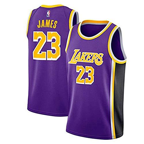 Lebron James Mesh Basketball Swingman Trikot Vintage Herren Trikot - NBA Lakers # 23 (Lebron Full Zip)