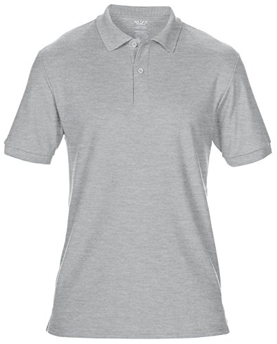 Gildan Dry Blend doppelte Pique Sport Polo Shirt gd044 - RS Sport Grey