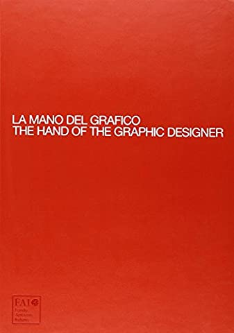 Moleskine Bücher / The Hand of the Graphic Designer / A4 / inkl. Skizzenheft / Rot