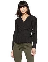 68dc4a759978 Suchergebnis auf Amazon.de für  Schwarze Wickelbluse - Damen  Bekleidung