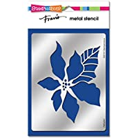 Stampendous FMS4041  Classic Poinsettia Metal Stencil by