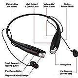 ZAUKY HBS-730 Neckband Bluetooth Headphones Wireless Sport Stereo Headsets Handsfree with Microphone