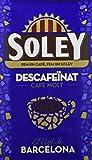 Café Soley molido Descafeinado, 250 gramos - [Pack de 12]