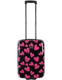 Saxoline Hearts Koffer, 55 cm, 29 L, Mehrfarbig