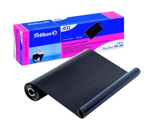 Pelikan Thermotransferrolle Thermofolie schwarz 240 Seiten Fax-910/917/920/930/940 (Fax 910)