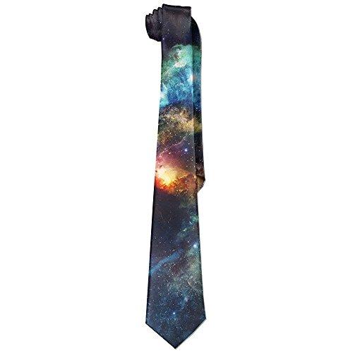 Stylish Starry Sky Planet Vast Universe Neck Tie
