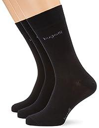 bugatti Herren Socke 3 er Pack 6703 / bugatti smooth cotton