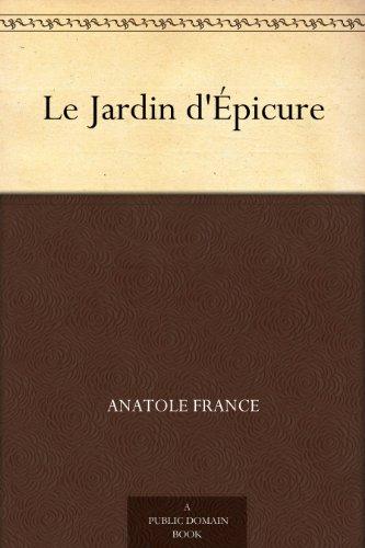 Couverture du livre Le Jardin d'Épicure