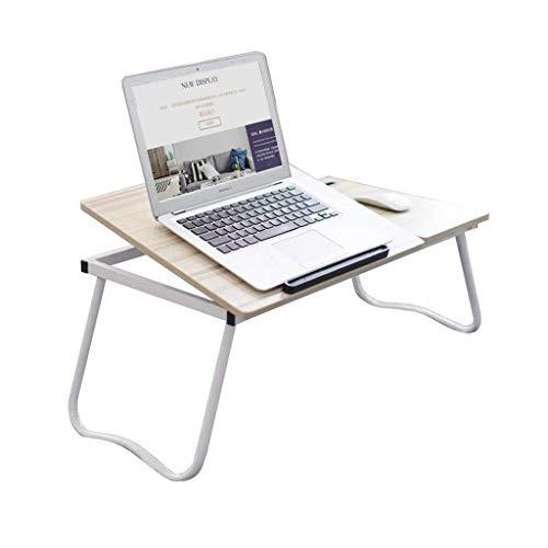 LQUIDE Verstellbarer Winkeltisch, tragbares Klappbett, Laptop-Notebook, ergonomisches Tablett, Leichter Laptop-Ständer C -