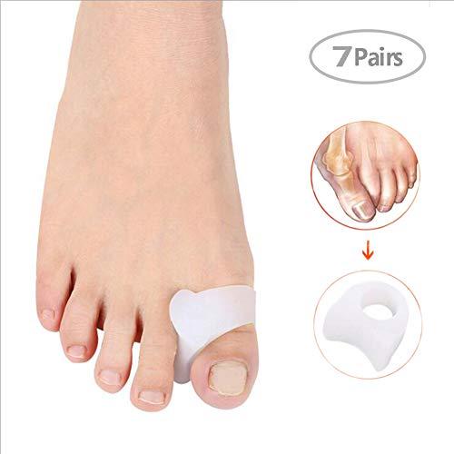 7 pares de orificios para el cuidado del pie