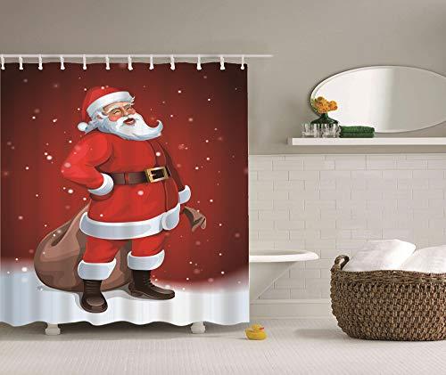 Dsgrdhrty Navidad roja Santa Claus Sacos Marrones