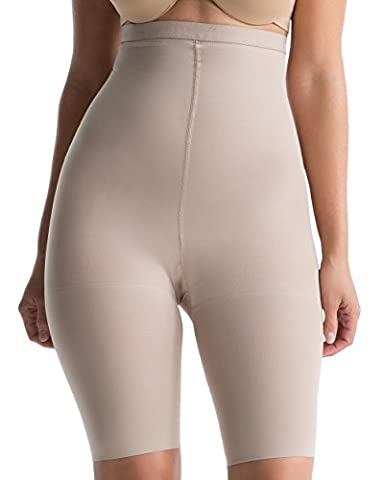 Spanx Womens Slimproved Higher Power Shapewear Panties - Tummy & Thigh Control