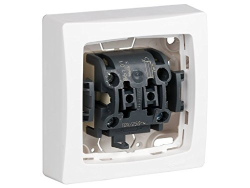 Legrand, 097340 Oteo - Interruptor de pared, interruptor conmutador de superficie, con...
