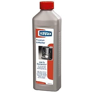 Xavax Premium Entkalker (Für Kaffeevollautomaten und Espressomaschinen, Flüssig, 500 ml)