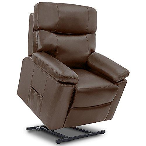 Sillón relax de masaje modelo Ginebra Levanta Personas. Función calor. 10 programas de masaje. 10 intensidades. 8 motores. Doble mando. Temporizador. Ruedas. Polipiel de alta calidad)