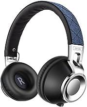 Headphones, Sound Intone CX-05 Auriculares en estéreo plegables y ajustables Cinta de cabeza estirable,compatible con iPhone, iPad, Samsung y PC