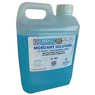 Apl Chemicals Mordant solution galvanised metal T-wash pre etch primer 5lt 5 litre