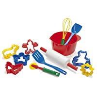 Dantoy Baking Set, Role Play Toys for Kids with 12 Pieces, Made in Denmark - Multi Colour