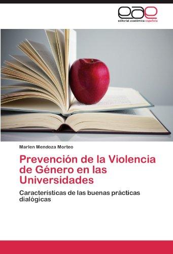 Prevención de la Violencia de Género en las Universidades por Mendoza Morteo Marlen