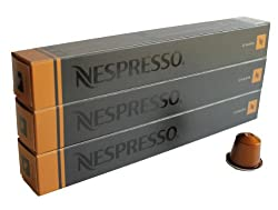 30 Livanto Nespresso Capsules Espresso Lungo