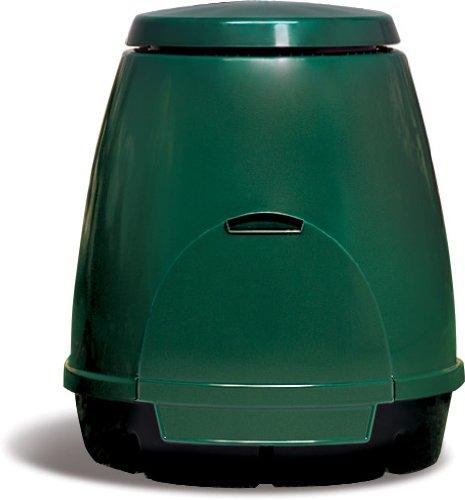 mattiussi ecologia s.p.a. composter 310 litri - aeratore manuale e contenitore per l'organico inclusi