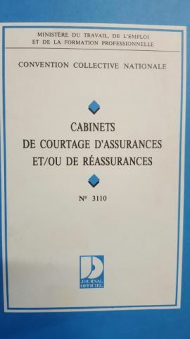 Convention collective nationale, Cabinets de courtage d'assurances et/ou de réassurances