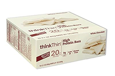 thinkThin High Protein, 2.1 Ounce (Pack of 10) from thinkThin
