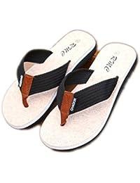 GR Sandales de plage à bascule pour hommes avec semelle extérieure EVA