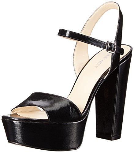 Nine West Garofano pompa Dress sintetico Black Patent