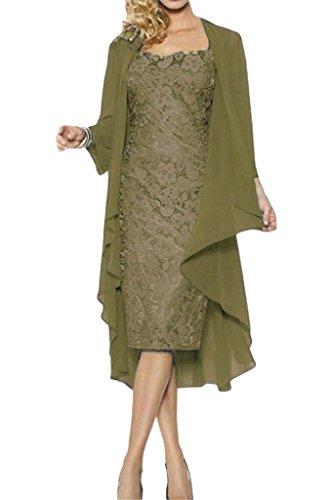 Victory Bridal - Robe - Crayon - Femme Olive Gruen