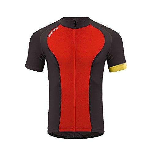 Uglyfrog #ZD17 Kurzarm Herren Männer Radfahren Trikots & Shirts Biking Man Full Zip Radtrikot