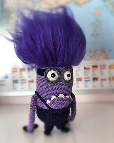 Lila Monster Minion